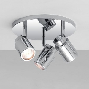 Astro Lighting Como Triple Round 1282002 (6107) - reflektor łazienkowy IP44